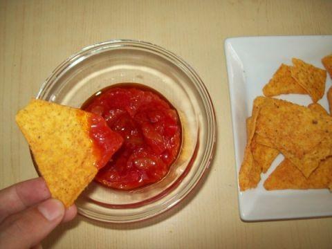 Salsa messicana per nachos tortilla chips messicane le for Ricette messicane